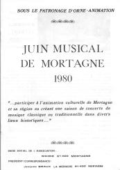 Programme 1980 1