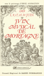 Programme musicales 1989