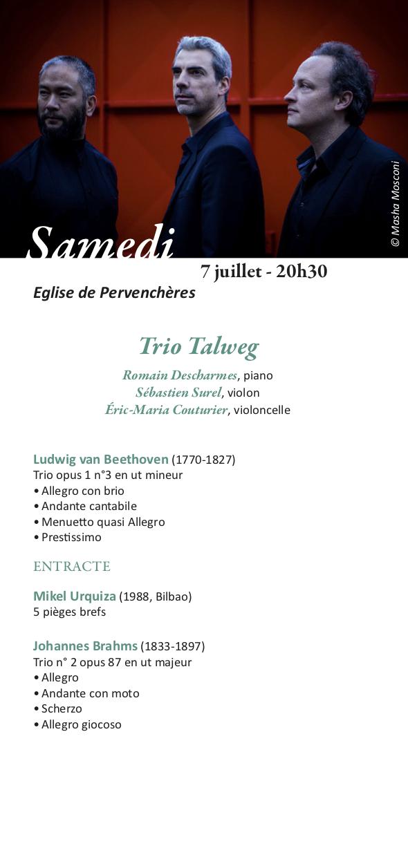 Programme Trio Talweg